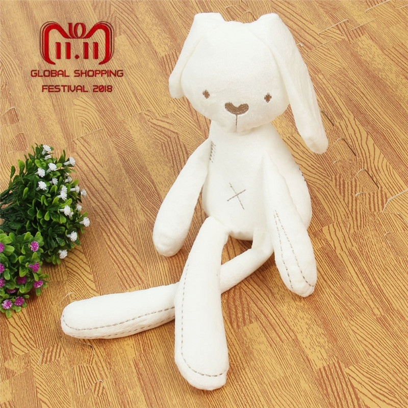 2017 Cute Rabbit Doll Baby Soft Plush Toys For Children Bunny Sleeping Mate Stuffed &Plush Animal Baby Toys For Infants plush ocean creatures plush penguin doll cute stuffed sea simulative toys for soft baby kids birthdays gifts 32cm
