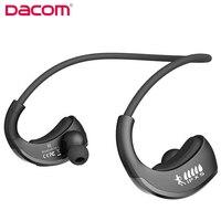 DACOM Zırh G06 Bluetooth Kulaklık IPX5 Su Geçirmez Smartphone iphone için Mic ile Kablosuz Kulaklık Spor Koşu Kulaklık