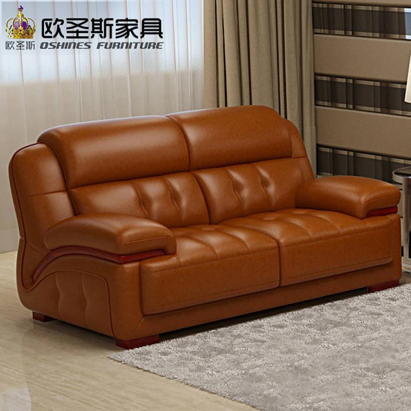 Genuine Leather Modern Sectional Sofa: 2019 New Design Italy Modern Leather Sofa ,soft