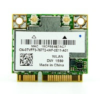 Wholesales FOR DELL DW1550 BroadCom BCM4352 BCM94352HMB Half Mini PCI E 802 11ac Wifi BT 4