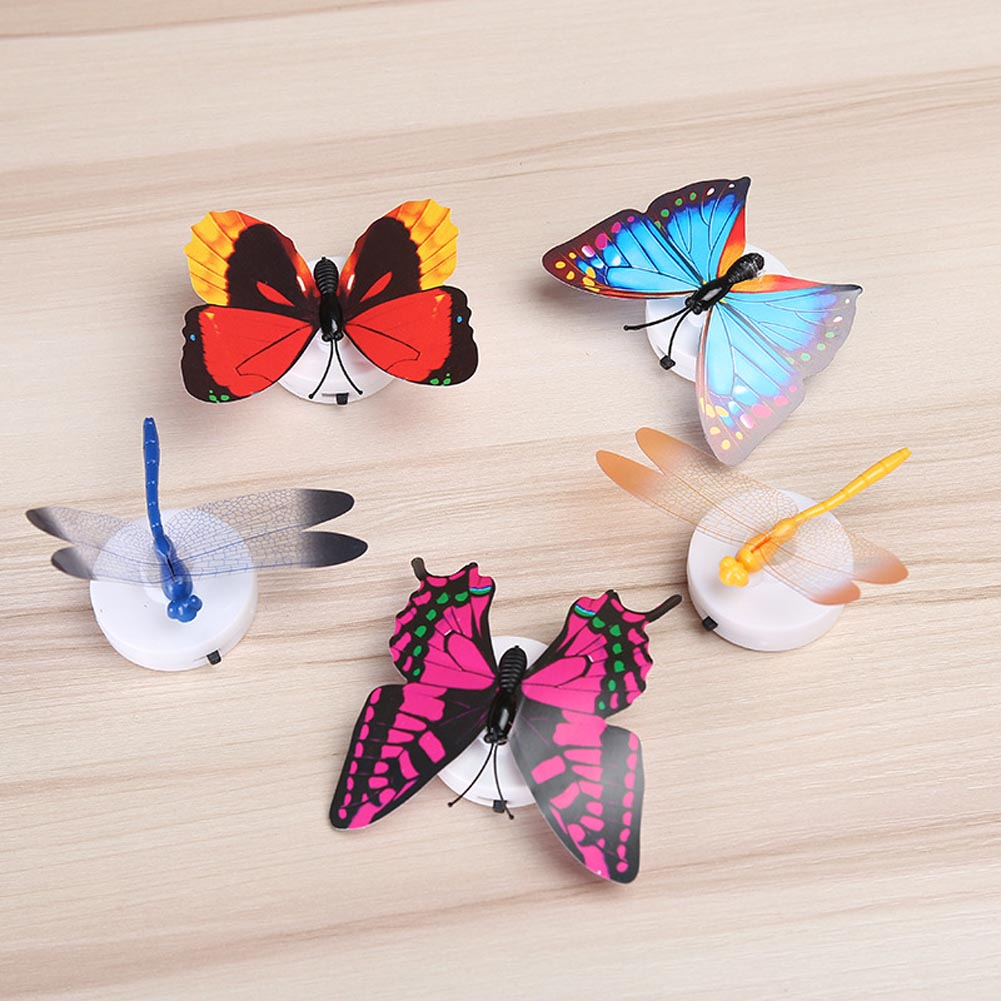 Girls Led Flashing Light Fairy Butterfly Wing Wand Headband Party Costume Toy Christmas Gift Magical Toys Drop Shipping