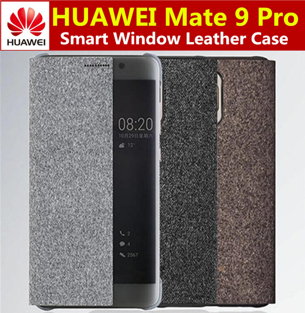 sports shoes 71df4 cf088 US $11.99 |HUAWEI Mate 9 Pro Case Phone Cover Original Smart Window Flip  Leather Cover For HUAWEI Mate9 Pro coque-in Flip Cases from Cellphones & ...