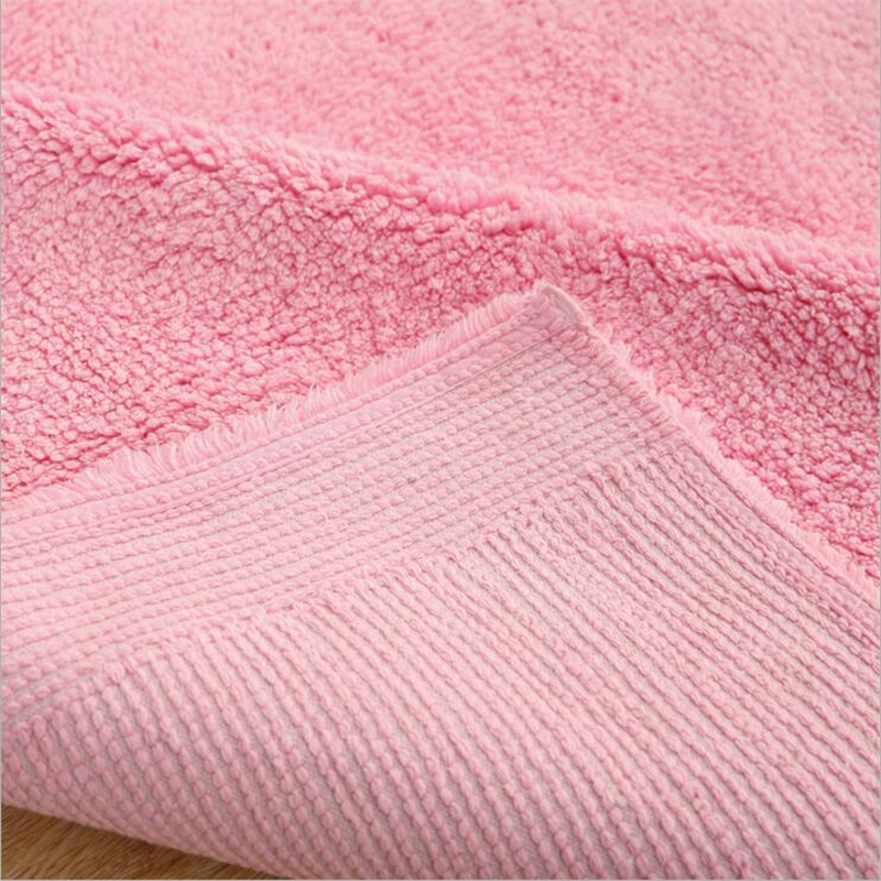 140X160cm Simple Creative Soft Cotton Carpets For Living Room Bedroom Rugs Home Carpet Delicate Hand Woven Area Rug Door Mat - 5