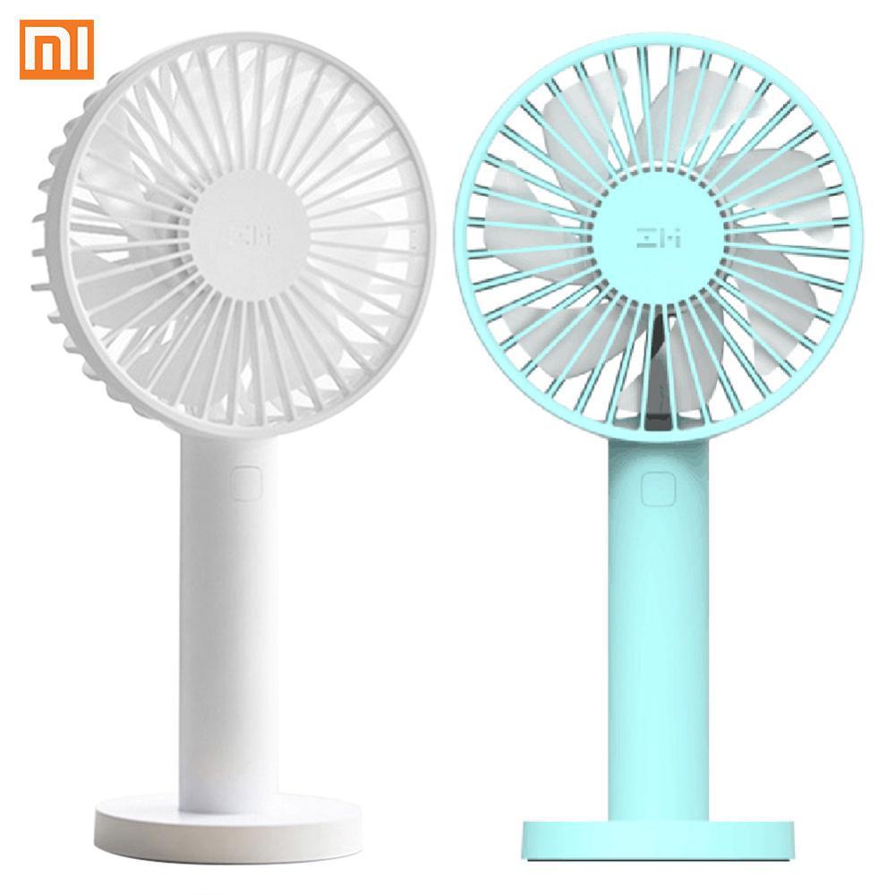 Xiaomi ZMI AF215 3 Speed Handy Fan Portable Handheld Fan With Rechargeable 3350mAh USB Port Mini Smart Fan For Home Gift