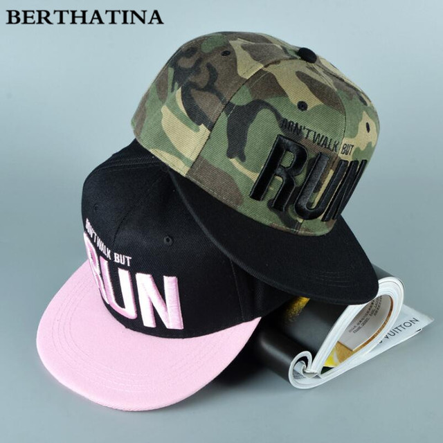 6bc4cdc69 Berthatina حار الأطفال ماركة أطفال البيسبول كاب النساء الرجال سنببك الورك  هوب قبعة الأزياء r u ن