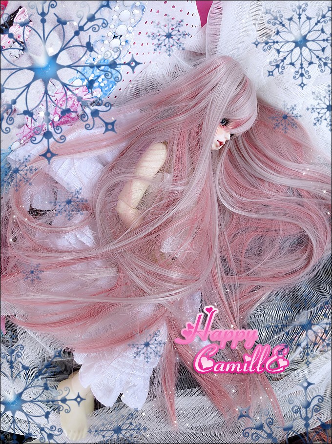 1 4 1 3 scale BJD SD accessories wig long hair for BJD doll accessories Not