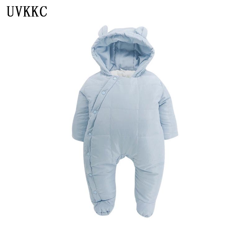 UVKKC 2017 Winter Baby clothing set for girl Jumpsuit Cotton Baby Newborn Rompers long sleeve Baby Costume roupas de bebe menino 2 pcs lot newborn baby girls clothing set cute pink cotton baby rompers boys jumpsuit roupas de infantil overalls coveralls