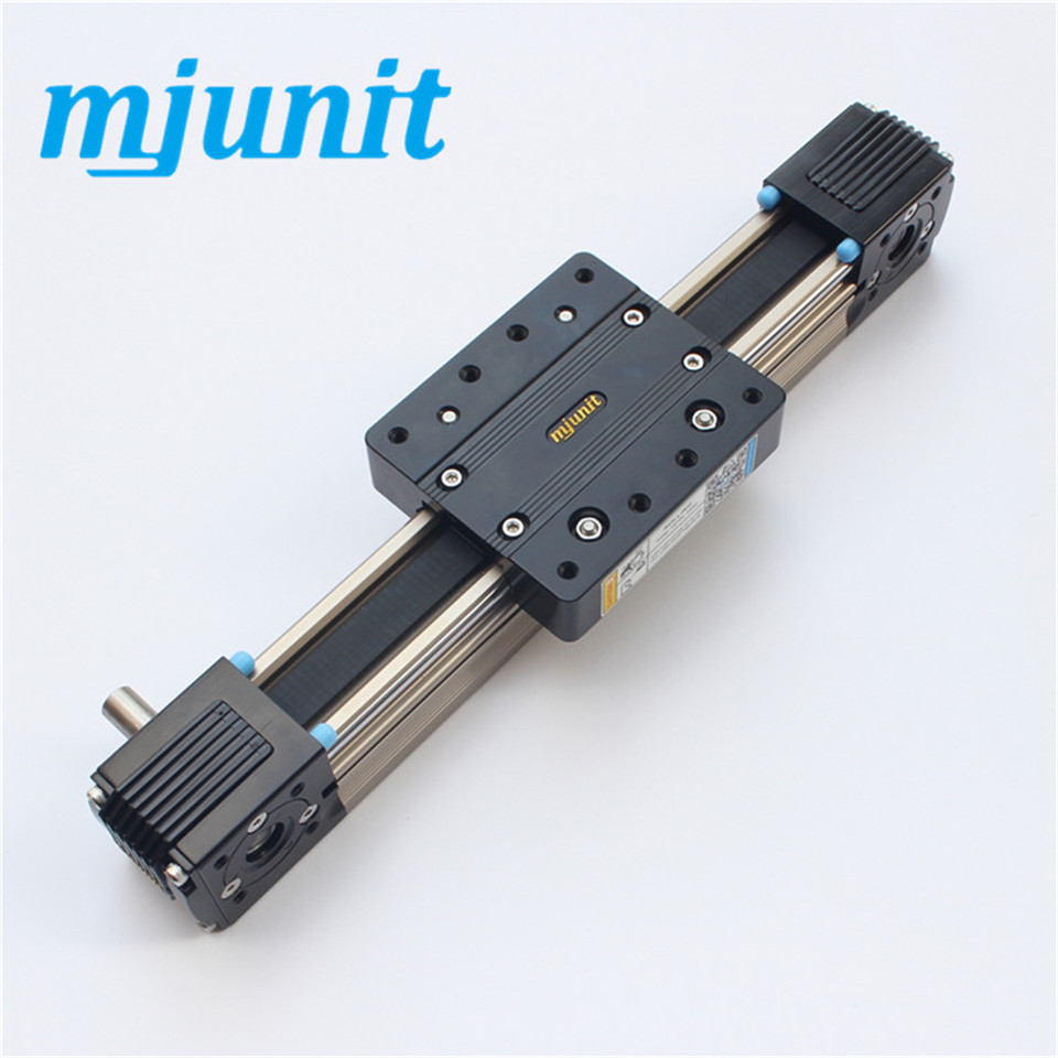 high speed automation equipment linear rail Belt Driven Linear Rail Actuator belt driven linear slide rail belt drive guideway professional manufacturer of actuator system axis positioning
