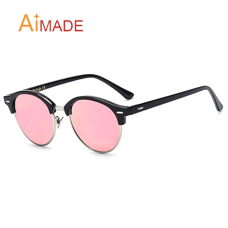 Designer Glasses Half Frame : Aimade New 2016 Brand Designer Half Frame Club Round ...