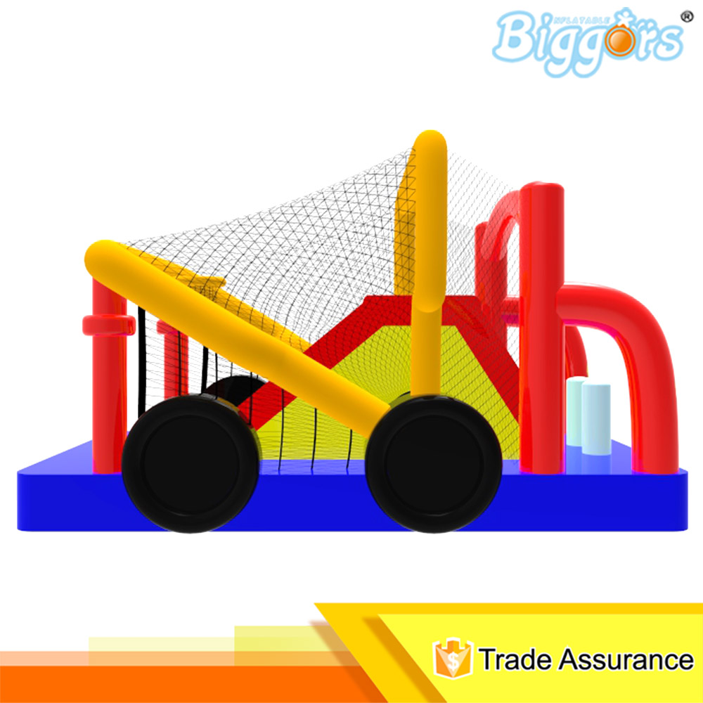ФОТО inflatable biggors outdoor large inflatable bouncer with slide kids birthday bounce house commercial use