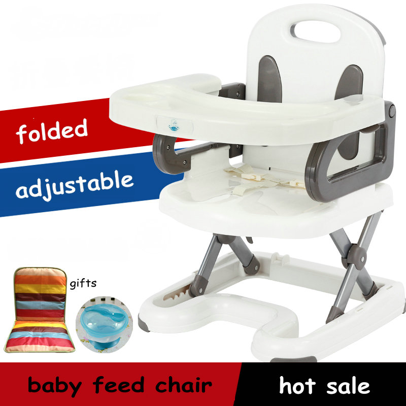 protable adjustable nice baby feed chair multifunctional baby dining chair folded removable 0-4years old baby children chair extra large children shampoo chair the shampoo chair baby shampoo chair