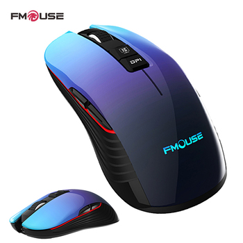 M600 Pro Rechargeable Wireless Gaming Mouse Optical LED 2.4GHz Computer Mouse with USB Receiver Silent Click 4 DPI 8 Buttons rii rm200 2 4g wireless mouse 5 buttons rechargeable mobile optical mouse with usb nano receiver 3 adjustable dpi levels for pc