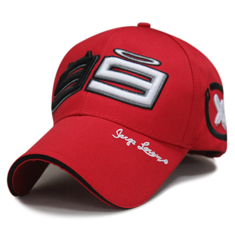 2017 New F1 Car 99 Jorge Lorenzo Hats for Men Racing Cap Cotton Motorcycle Racing Baseball Caps Car Sun Snapback Hats 2016 new cotton sports rossi vr46 caps motogp racing motorcycle baseball cap car visors sun hats casquette