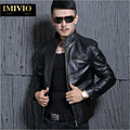 [Elite] Retro Genuine Leather Motorcycle Jacket Men Cowhide Leather Jacket Men Brand 2015 Fashion Trend Slim Locomotive Jacket