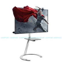 Fashional TV Floor Stand Mobile Bracket Mount TV Stand TV Arm Mobile TV Carts Fit for 32