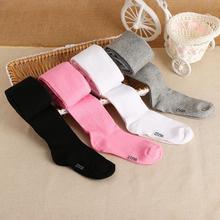 Колготки для маленьких девочек от 0 до 6 лет мягкие хлопковые колготки, вязаные колготки, колготки коллекция года, весенне-осенне-зимняя одежда для младенцев