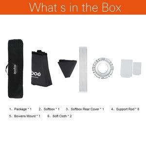 Image 2 - Godox سوفت بوكس 95 سنتيمتر 120 سنتيمتر 140 سنتيمتر المثمن ستوديو ستروب سوفت بوكس مع بونز جبل لفلاش الاستوديو