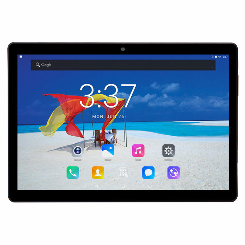 Hot New Tablets 3G WCDMA SIM Octa Core Dual 4GB RAM 32GB ROM  HD IPS 5.0MP bluetooth wifi GPS FM Android 7.0 Tablet 10.1inch 2016 new arrival android 4 4 2 smart phone watch x01 ips 1 54 inch dual core ram 512mb 4gb bluetooth 3g wcdma gps camera wifi