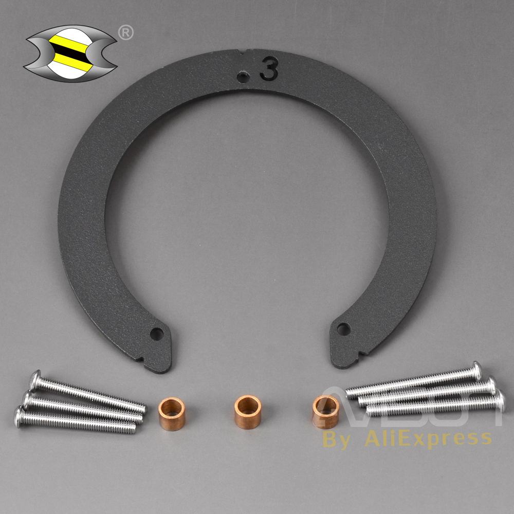 QUICK-LOCK Easy Lock Tankring / Tank Adapter BF03 For Suzuki Tank Bag Honda CBF600S  CBF600N 04-12 CBR1000RR (12 > 13) Etc
