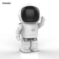 Pengbo Robot IP Camera WIFI HD 960P 1.3MP CMOS Wireless CCTV Security Video Cam P2P IR Night Vision Audio Baby Monitor Card Slot