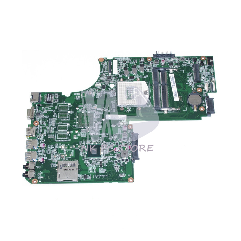 NOKOTION DA0BD6MB8D0 A000244130 For Toshiba Satellite S75 S75T Laptop Motherboard HM86 DDR3 HD4400 PGA947 17.3 inch NotebookNOKOTION DA0BD6MB8D0 A000244130 For Toshiba Satellite S75 S75T Laptop Motherboard HM86 DDR3 HD4400 PGA947 17.3 inch Notebook
