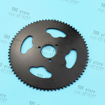 Envío libre 35MM T8F 74T diente piñón trasero para 47CC 49CC 2 tiempos Mini Moto Quad ATV suciedad Pit bicicleta de bolsillo