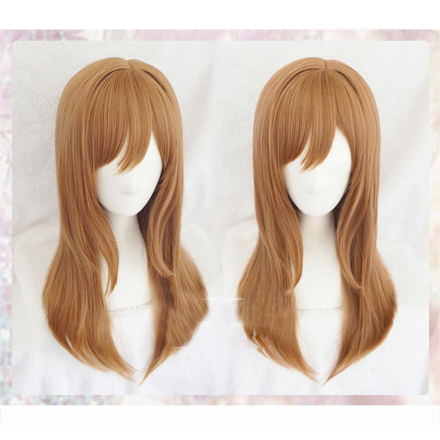 LoveLiveซันไชน์Kunikida HanamaruวิกผมOsplayเครื่องแต่งกายLove Liveผู้หญิงฮาโลวีนParty Wigs + วิกหมวก