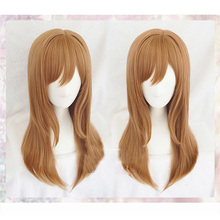 LoveLive peluca Kunikida Hanamaru con luz del sol, disfraz de osplay, pelucas para fiesta de Halloween con peluca