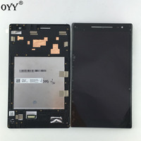 Used Parts LCD Display Touch Screen Digitizer Glass Assembly With Frame For Asus Zenpad 8 0