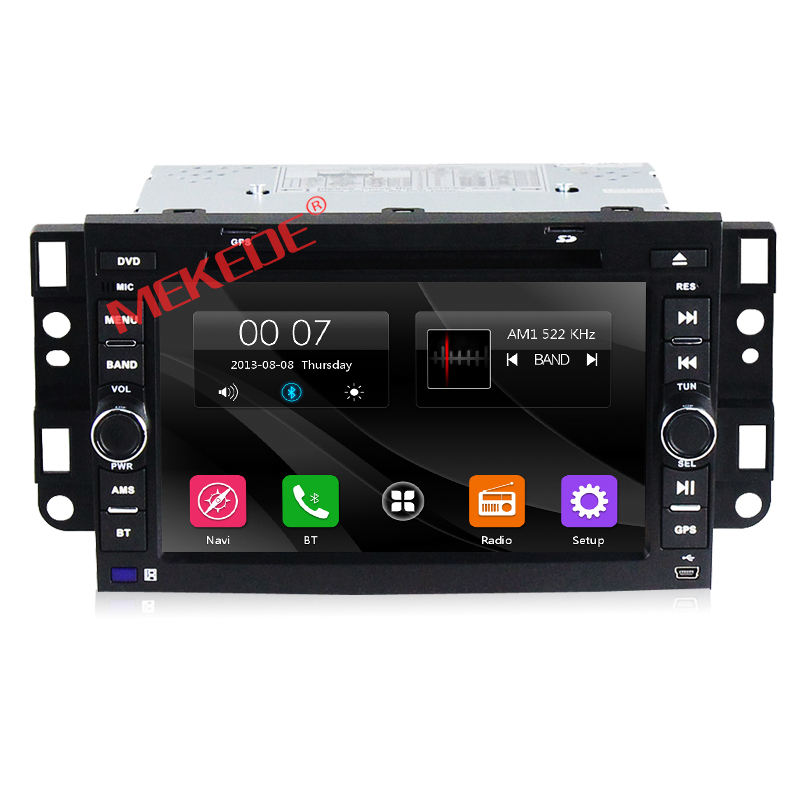 2din font b Car b font DVD font b radio b font stereo Player For Chevrolet