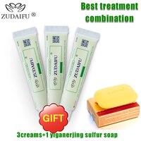 1PC Sulfur Soap Handmade Whitening Soap Shampoo Soap 3PCS CreamS