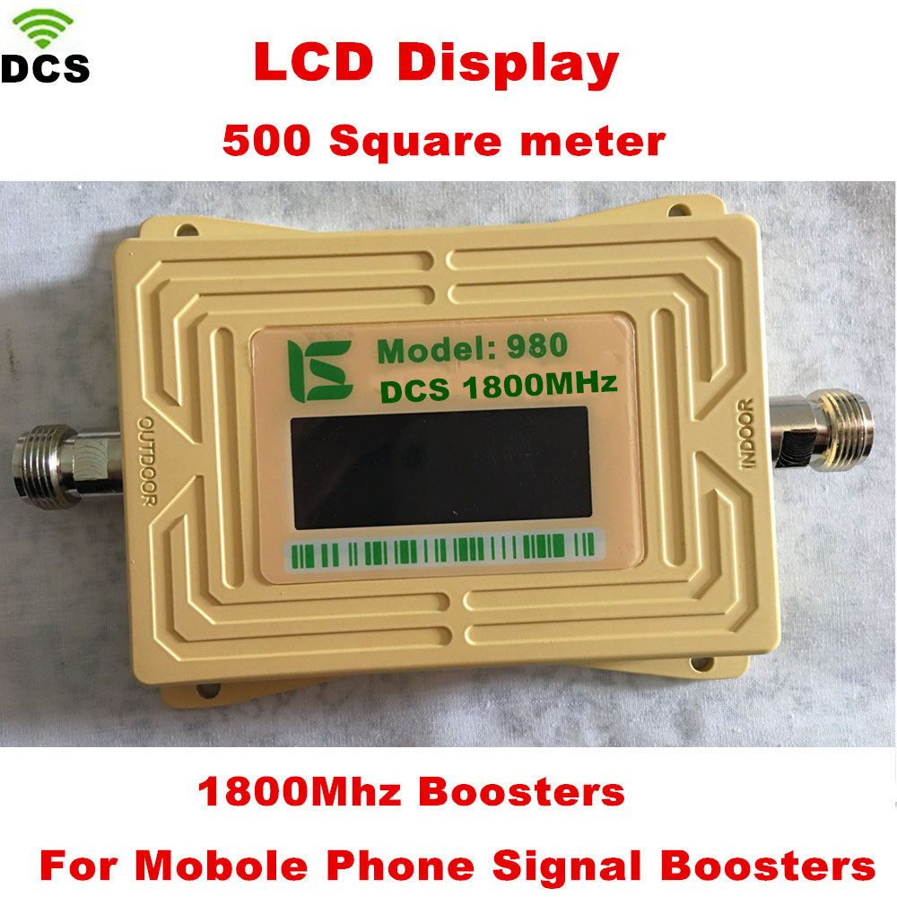 LCD Display GSM 1800 Repeater 2g 4g LTE Cell Phone Signal Booster DCS 1800 Mobile Phone Amplifier Signal Booster