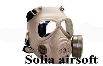 GEN 4 M04 skull perspiration fog fan GAS mask Face protection Tan