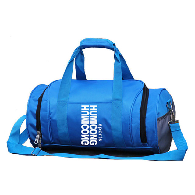 Outdoor Cylindrical Sports Gym Bag For Women Men Fitness Yoga