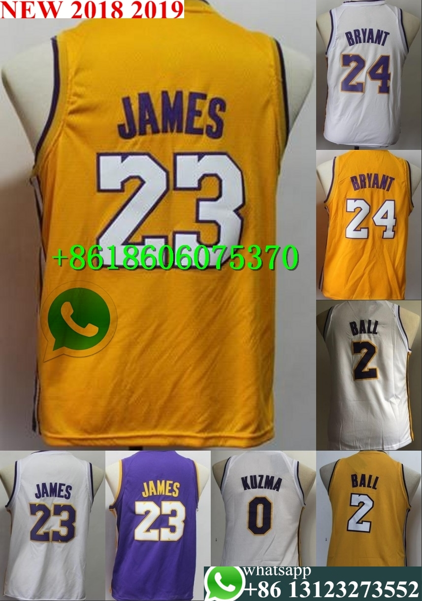 091c2bb3b4e Buy jersey kuzma and get free shipping on AliExpress.com