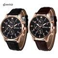Retro Design Leather Band Analog Alloy Quartz Wrist Watch Mens Watches Top Brand Luxury Digital Relogio Masculino Business Clock