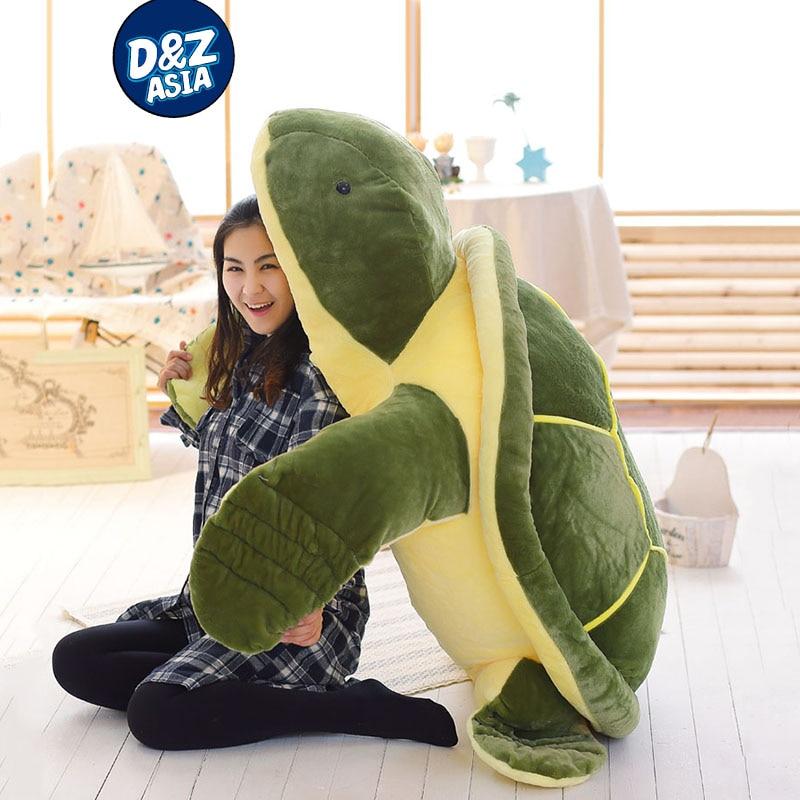 Giant Plush Animals Turtle Doll Large Turtle Plush Toy Cushion Sofa Pillow Kawaii Plush Birthday Gift