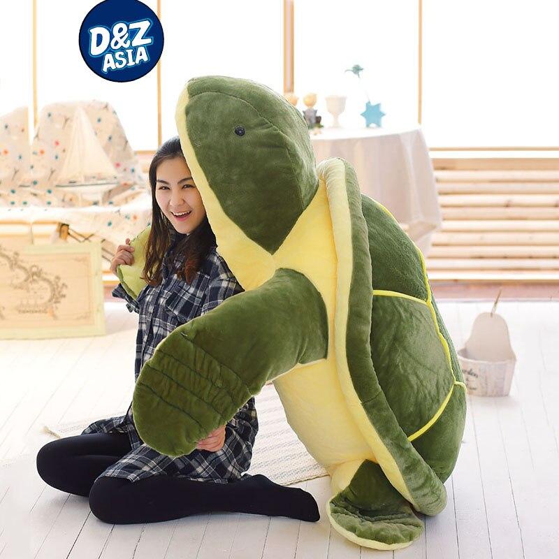 Giant plush animals turtle doll Large turtle Plush Toy Cushion sofa pillow kawaii plush Birthday Gift носки низкие toy machine turtle ankle page 1 href