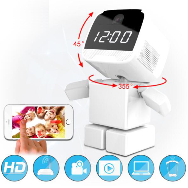 BabyKam 960P Robot IP Camera WiFi 1.3MP HD Wireless CCTV Security Camera Wi-Fi IR Night Vision Video Baby Monitor hd 960p wifi wireless robot security ip camera 160 degree night vision motion detection audio alarm function video home monitor