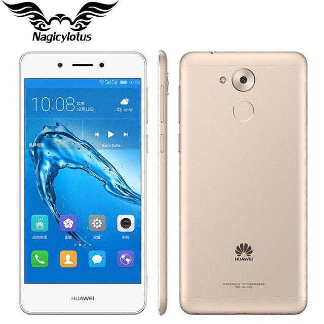"""Оригинал huawei enjoy 6s 4 г lte мобильный телефон snapdragon 435 окта основные android 6.0 5.0 """"3 ГБ RAM 32 ГБ ROM IPS 1280X720HD 13.0MP"""