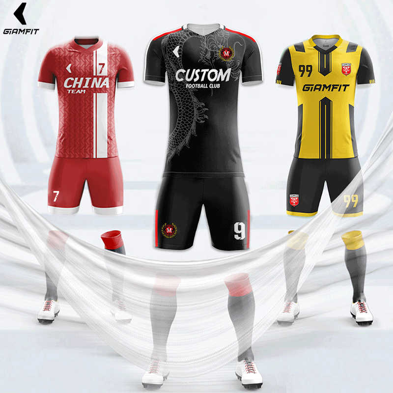 8f791a36513 ... Manufacturer Custom Soccer Jerseys High Quality Football Training  Uniform Set Fully DIY Printing Sports Clothing XS ...
