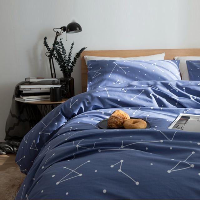 housse de couette et taie d oreiller personnalisée 60 S Coton Ensemble de Literie Nordique style Housse de Couette  housse de couette et taie d oreiller personnalisée