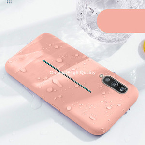 Image 1 - liquid silicone phone case for vivo v15 pro iqoo x23 silicone slim rubber protective phone case for Y93 X9s V15 x21 x27 23