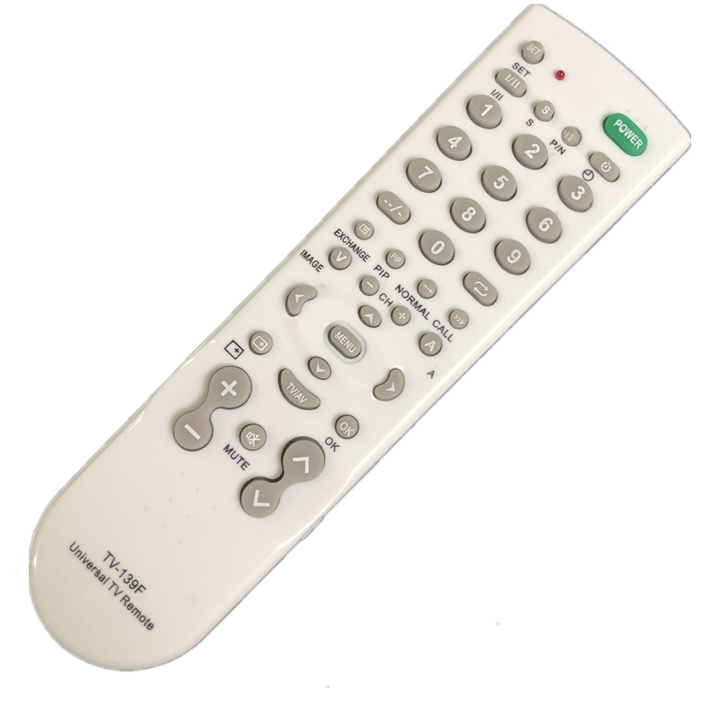 New TV-139F Universal TV Remote Controller TV control for PHILIPS SONY PANASONIC TOSHIBA LG SANYO HITACHI SAMSUNG new for panasonic tv universal remote for n2qayb000570 n2qayb000703 n2qayb000706