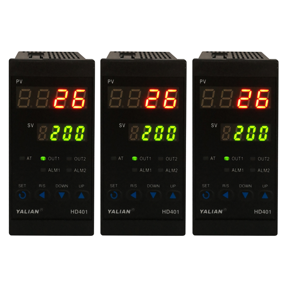 The Most Latest Temperature Controller Max Test Temperature 1372 Degree Thermoregulator With Dual Display And Alarm Relay Output