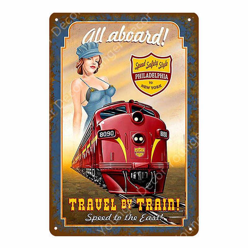 Соблазнительная девушка с чашей металлические вывески плакат автомобиль пиво с пикантной Леди Металл Настенная Наклейка живопись наклейки для Паб Бар Клуб домашний декор