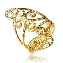 купить imixlot New Bohemia Gold Ring for Women Simple Wild Ring Female Statement Party Charm Jewelry Gifts New Design по цене 199.97 рублей