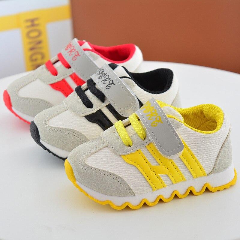 2018 Nowe buty dziecięce dla chłopców Dzieci z Canvas obuwie - Obuwie dziecięce - Zdjęcie 1