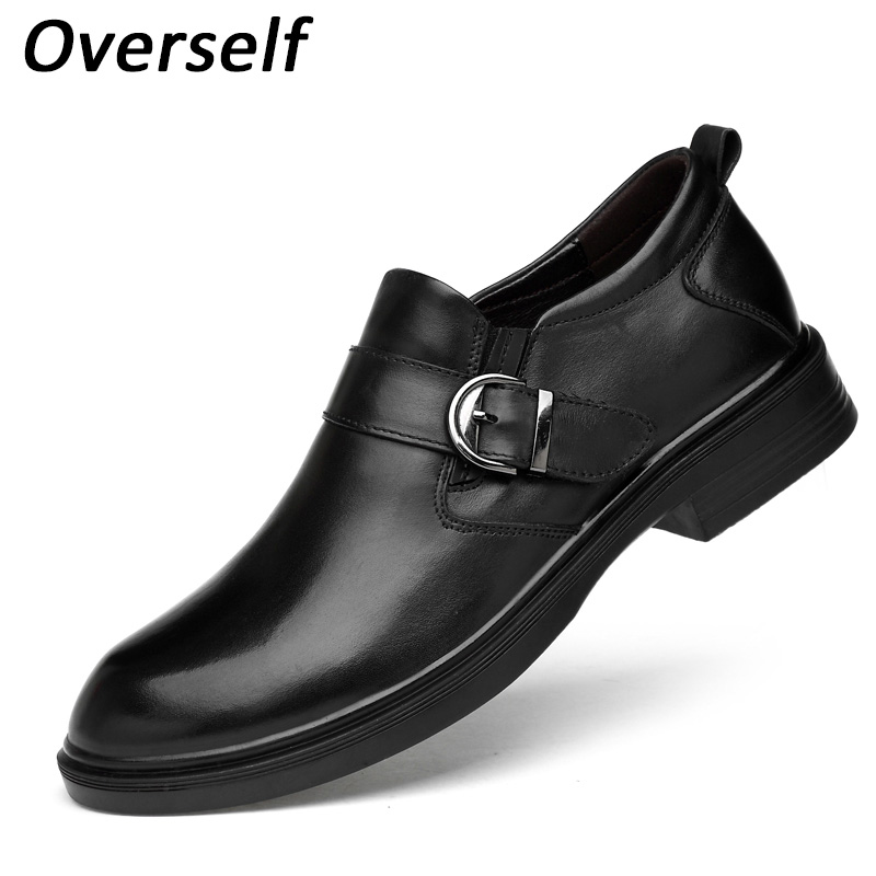 Formal mens dress shoes big size fashion italian designer luxury brand wedding shoes men flat office for men spring black shoes