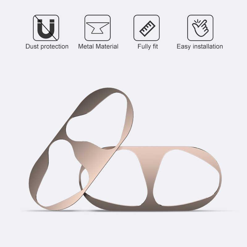 غطاء حماية من الغبار لأجهزة Apple Airpods غطاء حماية ملحقات سماعة الأذن ملصق لأجهزة Airpods2 8 غطاء ملون جذاب لأجهزة TWS i12 i7s